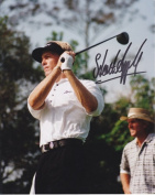 Stuart Appleby Autographed Golf 8X10 Photo