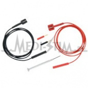 Medi-Stim LWADT159 Lead Wire Adapter Kit For Non - Compliant Devices With 2 Ea 2mm Pin Plugs Ex. Respond II Epix 982 Completes One Channel 2 Kits May Be Needed