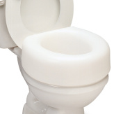 North Coast Medical NC28945 Economy Elevated Toilet Seat 12cm . & amp;#44; Weight Capacity of 110kg.