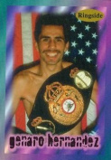 Autograph Warehouse 84391 Genaro Hernandez Card Boxing 1996 Ringside No .46