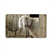 Past Time Signs AIF019 Goat Milk Home And Garden Metal Sign