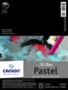 Canson 23cm x 30cm . Mi-Teintes Tape Binding Acid-Free Pastel Pad - 24 Sheets Grey