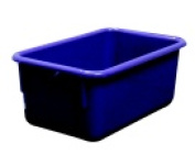 School Smart Stackable Tote Tray 12 L x 8 W x 5 D in. - Violet