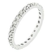 Icon Bijoux R07865R-C01-06 Cz Eternity Bliss Ring (Size