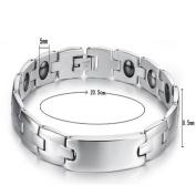 ES Jewel GS3072GA Stainless Steel Bracelet