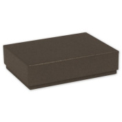Deluxe Small Business Sales 65-DCBSM-ESW 1.19 x 8.3cm x 12cm . Decorative Candy Boxes Brown