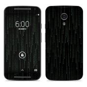 DecalGirl MMG2-MATRIX Motorola Moto G Second Gen Skin - Matrix Style Code