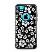 DecalGirl OC5C-ALOHA-BLK OtterBox Commuter iPhone 5c Skin - Aloha Black