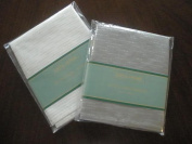 Tapestry Trading LJC1104-1717-4PKW Goldthread Fabric Napkins Set White