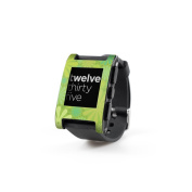 DecalGirl PWCH-PUNCH-LIM Pebble Watch Skin - Lime Punch