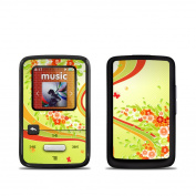 DecalGirl SSCZ-FSPLASH SanDisk Sansa Clip Zip Skin - Flower Splash