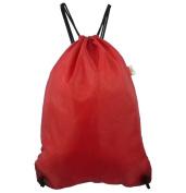 Harvest LM146 Red Large Drawstring Backpack