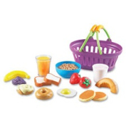 Learning Resources LRNLER9730 New Sprouts Play Breakfast Basket 17 Per Set