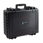 B & W North America 6000 - B - RPD Black Outdoor Case with Padded Divider Insert 6000