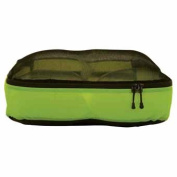 Ultralight Mesh Top Zip Bag Green Large