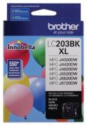 for Brother International LC203BK High Yieldblack Ink Cartridge