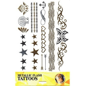 tattoo sticker skin tattoo body tattoo Once tattoo Metallic Tattoos Designs Scene 10