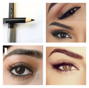 Dark Brown Eye Brow Liner Pencil Crayon Smooth Aloe Vera Rich Professional