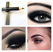 Black Eye Brow Liner Pencil Crayon Smokey Aloe Vera Professional Smooth Finish Long Lasting