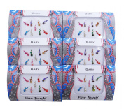 Banithani Pack Of 6 Pcs Indian Bollywood Bindi Temporary Sticker Gift For Women