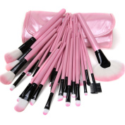 Dream Garden 32PCS Women Soft Professional Cosmetic Make Up Brush Set Kit + Pouch Bag Case