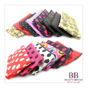 60 х MAKE-UP BAGS 20 STYLES COLOURS COSMETIC BAGS 20 x 12 cm. WHOLESALE UK
