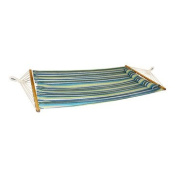 Bliss Hammock BH-404G Oversized Hammock with Spreader Bars and Pillow Candy Stripe