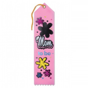Beistle Company AR255 Mom To Be Award Ribbon - Pack of 6