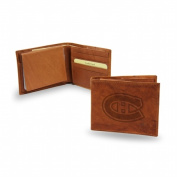 Rico Industries RIC-SBL8201 Montreal Canadiens NHL Embossed Leather Billfold