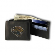 Rico Industries RIC-RBL0903 Jacksonville Jaguars NFL Embroidered Billfold Wallet