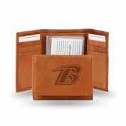 Rico Industries STR0701 Rico - NFL Embossed Trifold Wallet Baltimore Ravens