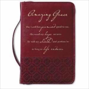 Zondervan Gifts 114616 Bi Cover Amazing Grace Large Rich Red
