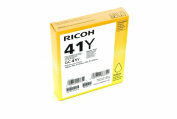 Ricoh Corp. 405764 Yellow Print Cartridge GC41Y