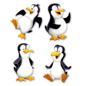 Beistle 22644 Penguin Cutouts Pack Of 12