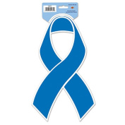 Beistle 54472 Blue Ribbon Cutout Pack Of 24