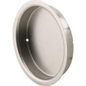 Prime Line Products N7206 Closet Door Pull Stain Nickel - 5.1cm .