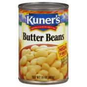 Kuners Butter Beans & amp;#44; 440ml & amp;#44; - Pack of 12