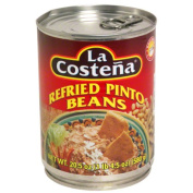 La Costena Refried Pinto Beans & amp;#44; 610ml & amp;#44; - Pack of 12