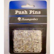 Pack of 30 Push Pins Case Of 72
