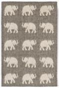 Trans Ocean Imports 1767/68 Elephants Silver 23X35