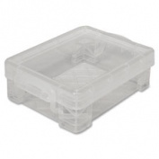 Advantus Corp. AVT40311 Stackable Crayon Box Clear