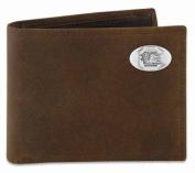 ZeppelinProducts USC-IWT1-CRZH-LBR South Carolina Passcase Crazyhorse Leather Wallet