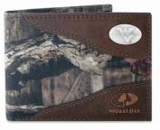 ZeppelinProducts WVU-IWNT1-MOS West Virginia Passcase Nylon Mossy Oak Wallet