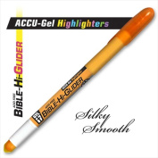G T Luscombe Co 08115X Highlighter Accu Gel Bible Hi Glider Orange