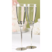 Hortense b Hewitt 11344P King and Queen Flutes personalised