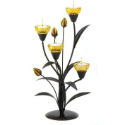 Zingz & Thingz 57070472 Tiger Lily Flower Tealight Holder