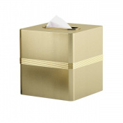 Tatara Group JW9H NuSteel Jewel Gold Finish Boutique Tissue