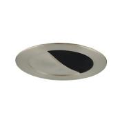 Jesco Lighting TM304BKST Aperture Low Voltage Trim 7.6cm Black Finish with Satin Chrome Trim