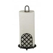 Hds Trading PH44041 Paper Towel Holder Lattice - Black
