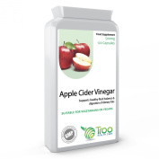 Apple Cider Vinegar 500mg 120 Capsules - Supports Healthy Blood Sugar and Cholesterol Balance - UK Manufactured GMP Guaranteed Quality